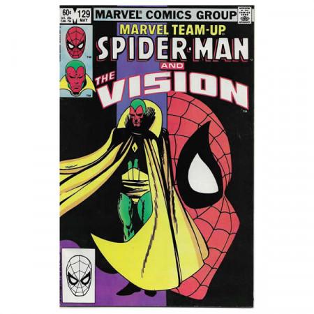 "Fumetto Marvel #129 05/1983 ""Marvel Team-Up Spiderman - Vision"""