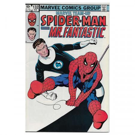 """Fumetto Marvel #132 08/1983 """"Marvel Team-Up Spiderman - Mr. Fantastic"""""""