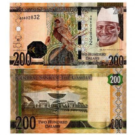 2015 * Banconota Gambia 200 Dalasis (pNew) FDS
