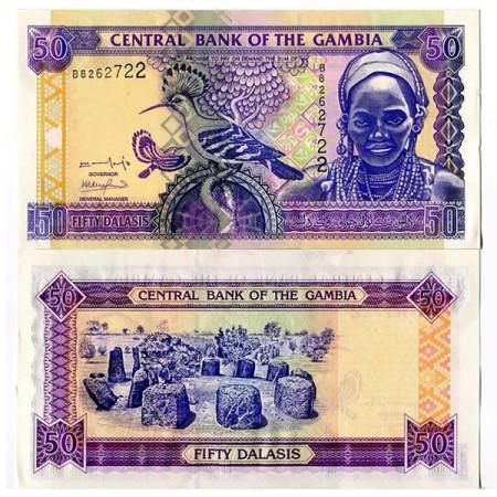 ND (2001) * Banconota Gambia 50 Dalasis (p23a) FDS