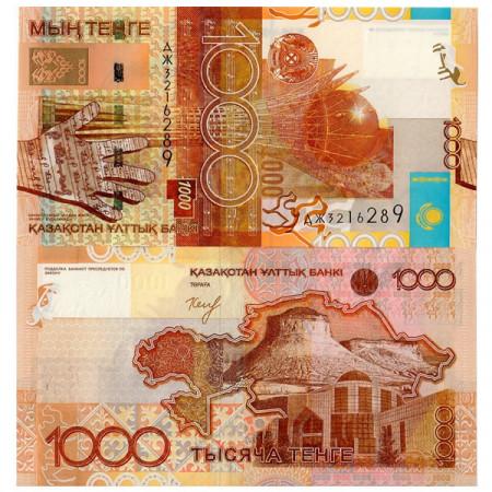 "2006 * Banconota Kazakistan 1000 Tenge ""Baiterek - Astana"" (p30) FDS"