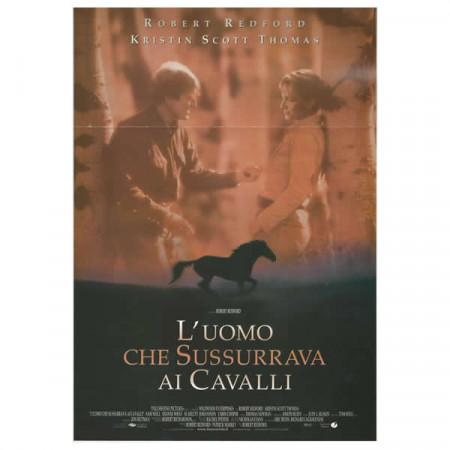 """1998 * Locandina Cinematografica Originale """"L'Uomo Che Sussurava Ai Cavalli"""""""