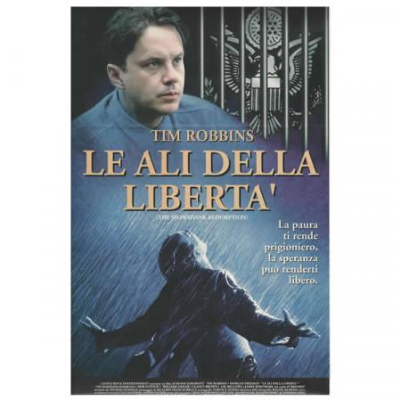 """1994 * Locandina Cinematografica Originale """"Le Ali Della Libertà"""""""