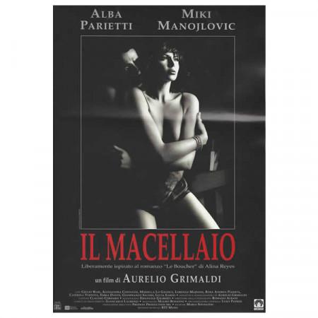 """1998 * Locandina Cinematografica Originale """"Il Macellaio - Alba Parietti"""""""