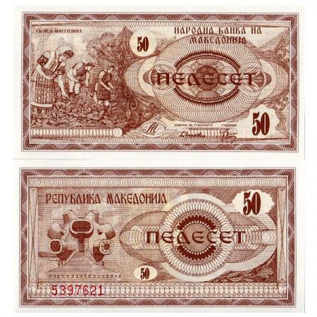1992 * Banconota 50 Denar Macedonia (p3) FDS