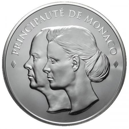 2011 * 10 Euro MONACO Matrimonio Reale proof