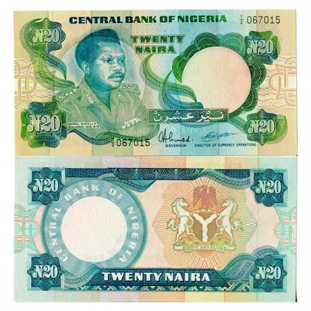 "ND (1984-) * Banconota Nigeria 20 Naira ""M Muhammed"" (p26d) FDS"