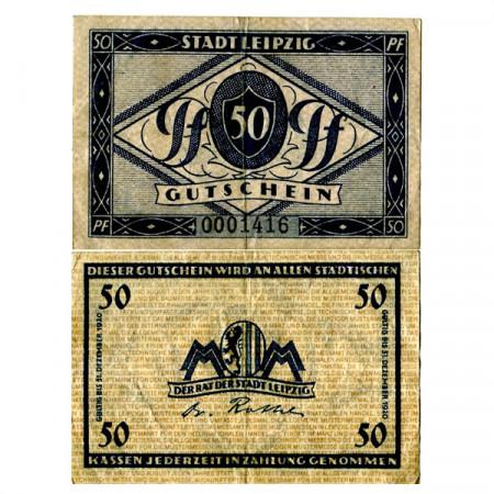 "1920 * Notgeld Germania 50 Pfennig ""Sassonia – Leipzig"" (L31.5)"