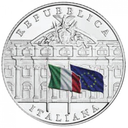 """2019 * 5 Euro ITALIA """"150° Fondazione della Ragioneria Generale di Stato"""" FDC"""