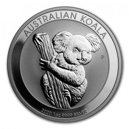 """2020 * 1 Dollar Argento 1 OZ Australia """"Koala"""" FDC"""