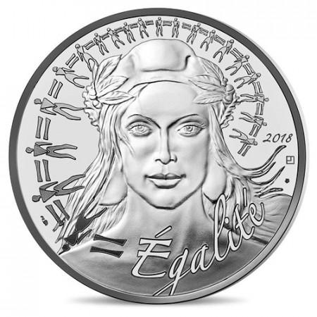 """2018 * 20 Euro FRANCIA """"Marianne - Simbolo di Uguaglianza"""" UNC"""