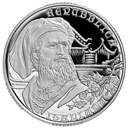 "2018 * 10 Euro ITALIA ""Marco Polo"" PROOF"