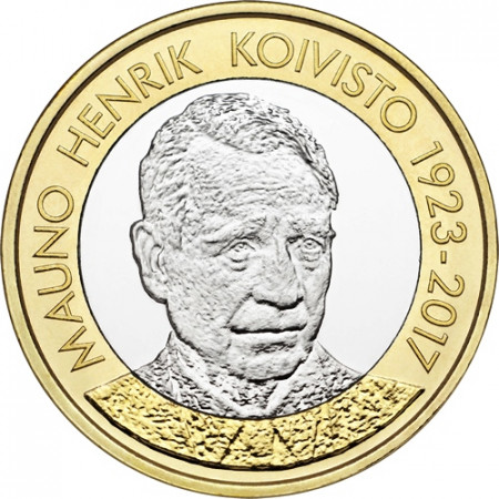 "2018 * 5 Euro FINLANDIA ""Mauno Koivisto"" UNC"