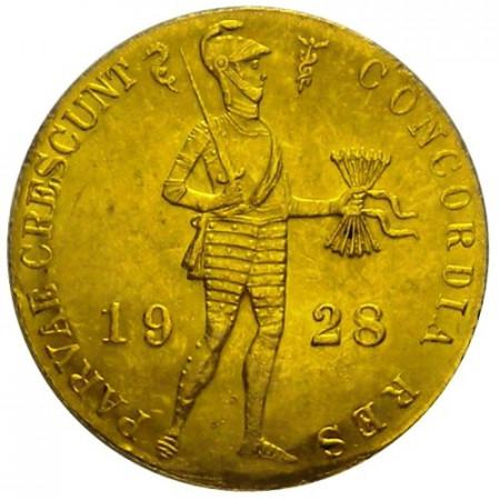 1928 * Ducato Olanda in oro cavaliere