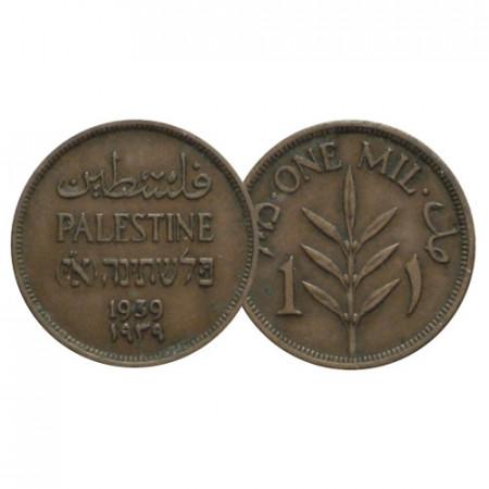 """1939 * 1 Mil Palestina """"Amministrazione Britannica"""" (KM 1) BB+"""