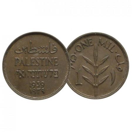 """1939 * 1 Mil Palestina """"Amministrazione Britannica"""" (KM 1) SPL"""