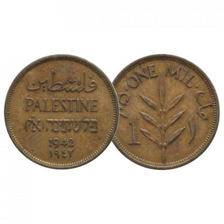 """1942 * 1 Mil Palestina """"Amministrazione Britannica"""" (KM 1) SPL"""
