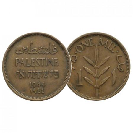 """1944 * 1 Mil Palestina """"Amministrazione Britannica"""" (KM 1) BB+"""