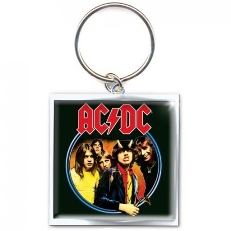 """Portachiavi * Rock e Musica """"AC-DC - Highway to Hell"""" Merchandise Ufficiale (ACDCKEY03)"""