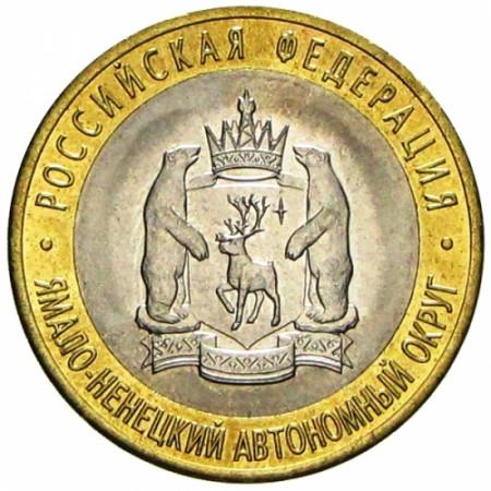 2010 * 10 rubli Russia - Yamalo-Nenetskiy (Y NEW)