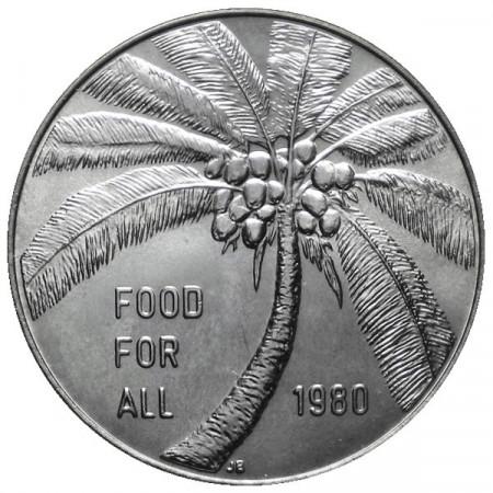 """1980 * 1 Tala Samoa """"Serie F.A.O."""""""