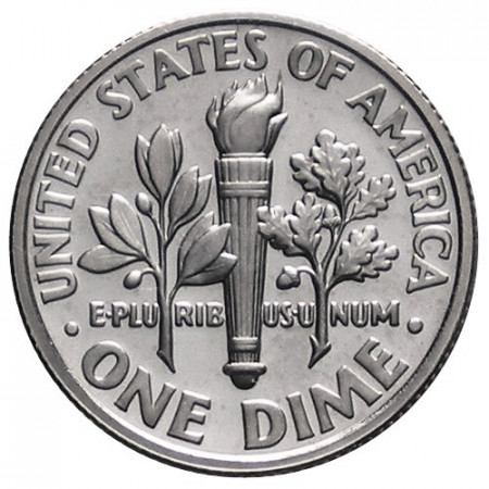 "1993 S * 10 Cents (Dime) Dollaro Stati Uniti ""FD Roosevelt"" PROOF"