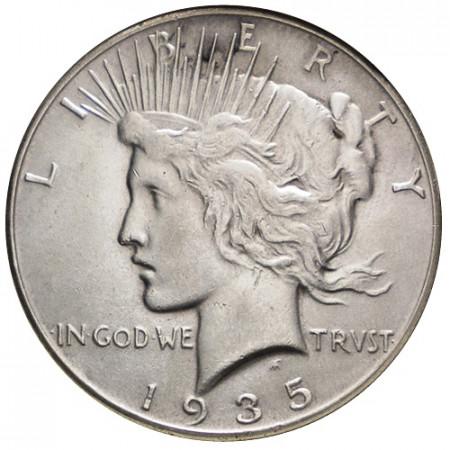 "1935 (P) * 1 Dollaro Argento Stati Uniti ""Peace"" Filadelfia (KM 150) SPL"
