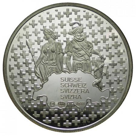 "2006 * Silber Unze 1 OZ Oncia Argento ""Svizzera - Confédération"" FDC"