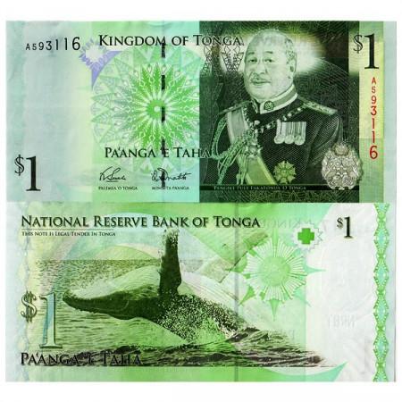 ND (2008) * Banconota Tonga 1 Pa'anga (p37) FDS
