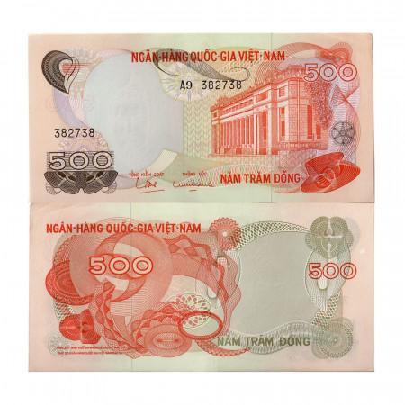ND (1970) * Banconota Vietnam del Sud 500 Dong (p28a) SPL+