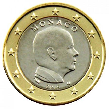 """2016 * 1 Euro MONACO """"Alberto II"""" UNC"""