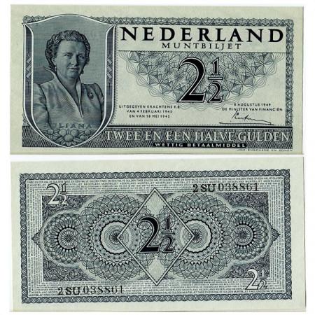 "1949 * Banconota Olanda - Paesi Bassi 2,5 Gulden ""Regina Giuliana"" (p73) FDS"