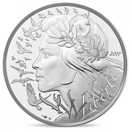 """2017 * 20 Euro FRANCIA """"Marianne - Simbolo di Libertà"""" UNC"""