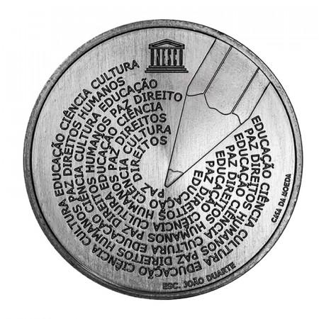 """2020 * 5 Euro PORTOGALLO """"Giornata Mondiale della Lingua Portoghese"""" UNC"""