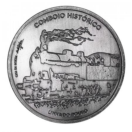 """2020 * 7,50 Euro Argento PORTOGALLO """"Serie Ibero-Americana - Treni Storici"""" UNC"""