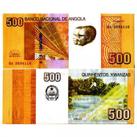 """2012 (2017) * Banconota Angola 500 Kwanzas """"Andulo Waterfall"""" (p155b) FDS"""