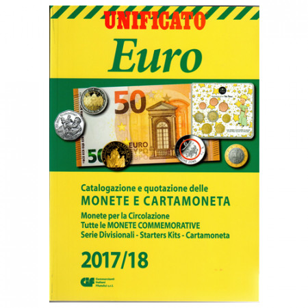 Catalogo Monete e Cartamoneta Euro 2017/18 * UNIFICATO