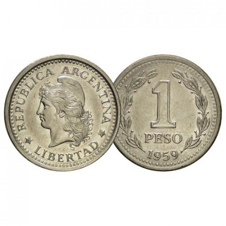 "1957-62 * 1 Peso Argentina ""Libertad"" (KM 57) BB"