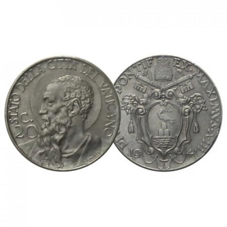 """1941 * 20 Centesimi Vaticano """"Pio XII - St. Paul"""" (KM 24a G 213) FDC"""