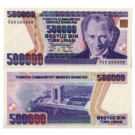 "L.1970 (1993) * Banconota Turchia 500.000 Lira ""Kemal Atatürk"" (p208) FDS"