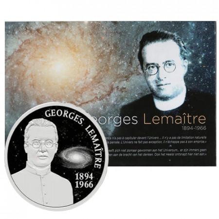 "2016 * 5 Euro BELGIO ""50° Georges Lemaitre"" FDC"