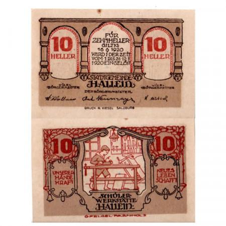 "1920 * Notgeld Austria 10 Heller ""Salisburghese – Hallein"" (FS 344IIa)"