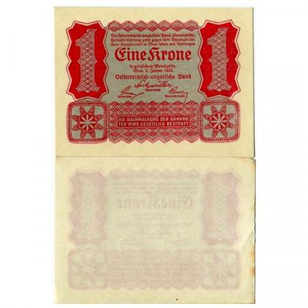 1922 * Banconota Austria 1 Krone (p73) SPL