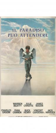 "ND (1978) * Movie Playbill ""Il Paradiso può Attendere - Julie Christie"" Comedy (B-)"