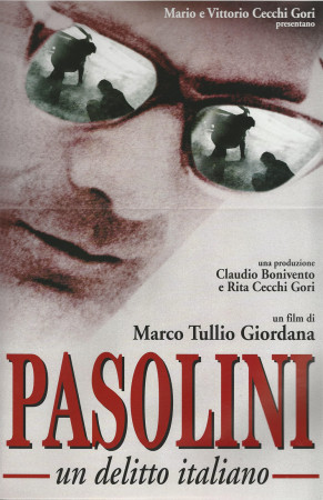"1995 * Movie Playbill ""Pasolini, Un Delitto Italiano - Marco Tullio Giordana"""