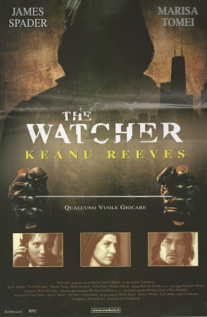 """2000 * Movie Playbill """"The Watcher - Keanu Reeves"""""""