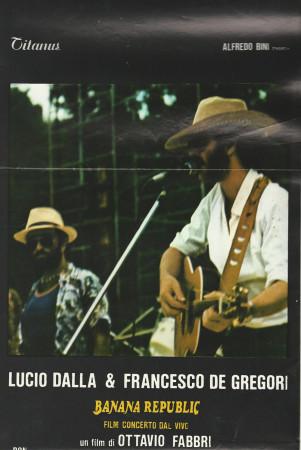 "1979 * Movie Playbill ""Banana Republic - Lucio Dalla e Francesco De Gregori"" Music/Docu"