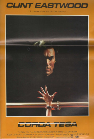 """1984 * Movie Playbill """"Tightrope - Clint Eastwood"""""""