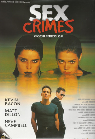 """1998 * Movie Playbill """"Wild Things - Kevin Bacon"""""""