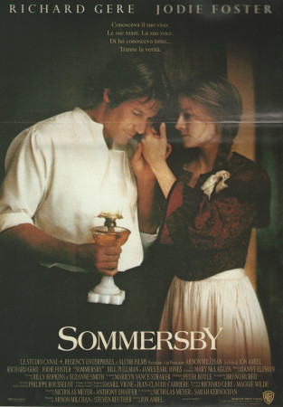 """1993 * Movie Playbill """"Sommersby - Richard Gere"""""""